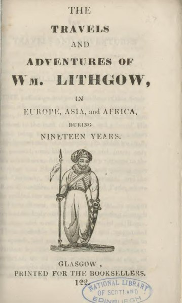 File:Travels and adventures of Wm. Lithgow (2).pdf