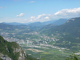 Marzemino - The Trentino region where Marzemino is grown.