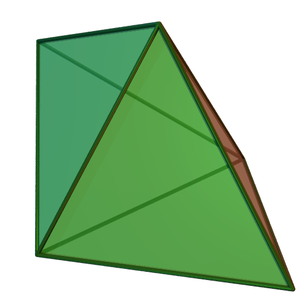 Triangular bipyramid - Image: Triangular dipyramid