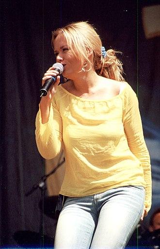 Trine Jepsen - Trine Jepsen during a concert with EyeQ