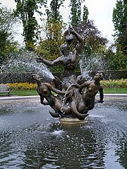 Triton And Dryads Fountain, Queen Marys Gardens