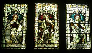 Ministers and elders of the Church of Scotland - Memorial windows commemorating past elders of the Tron Kirk in Edinburgh