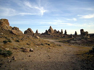 Tufa - Tufa at Trona Pinnacles, California