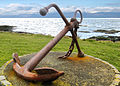Troon Anchor and view to Arran - panoramio.jpg