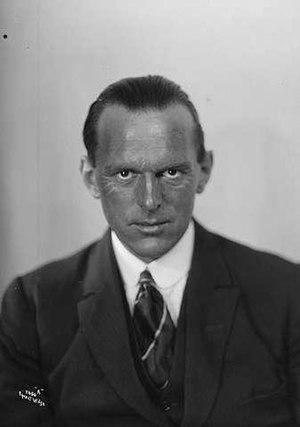Tryggve Gran - Major Tryggve Gran in 1923