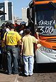 Trying to get home early in Brasilia before Brazil & North Korea match at World Cup 2010-06-15 2.jpg
