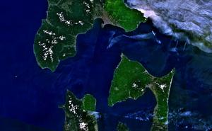Tsugaru Strait - Landsat 7 Imagery of Tsugaru Strait