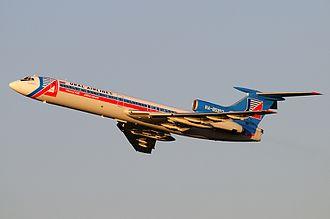 Ural Airlines - A former Ural Airlines Tupolev Tu-154M