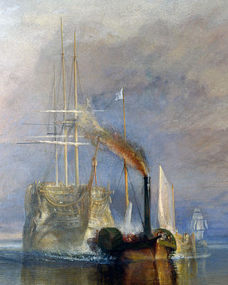 The Fighting Temeraire - Detail