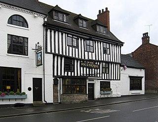 Tutbury village in the United Kingdom