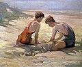 Twee jongens aan het strand.jpg