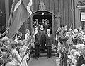 Tweede dag bezoek Koning Hakon aan Rotterdam, Noorse kerk, Bestanddeelnr 906-6618.jpg