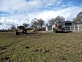 Two Alvis Saladin armoured cars beside the Shropshire Way - geograph.org.uk - 1712518.jpg