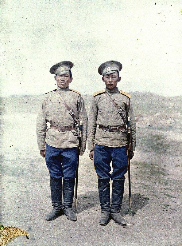 Two Cossacks in Khuree