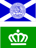 Two official flags of Charlotte, North Carolina.png