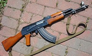 North Hollywood shootout - A Norinco Type 56 rifle