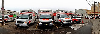 U-Haul - Image: U Haul Trucks, Stamford, CT 06902, USA Feb 2013