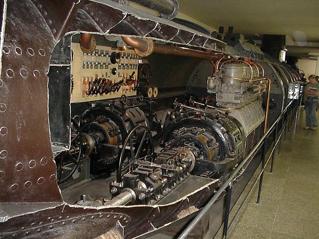 SM U-1 German Type U 1 Submarine