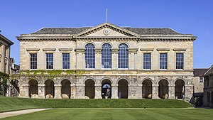 Worcester College, Oxford - Image: UK 2014 Oxford Worcester College 02