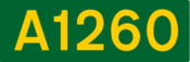 A1260 road shield