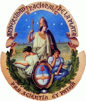 National University of La Plata - Seal of the National University of La Plata