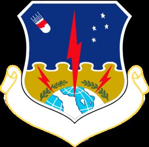 1st Strategic Aerospace Division - 1st Strategic Aerospace Division emblem