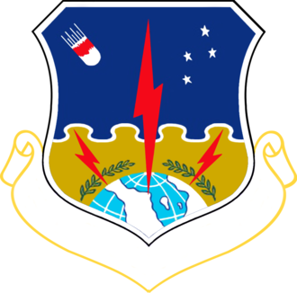 1st Strategic Aerospace Division - 1st Strategic Aerospace Division emblem