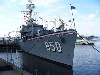 USS Joseph P. Kennedy Jr. (DD-850) - USS Kennedy in Battleship Cove
