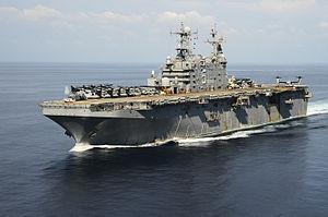 USS Peleliu - Peleliu in the Philippine Sea, October 2014.