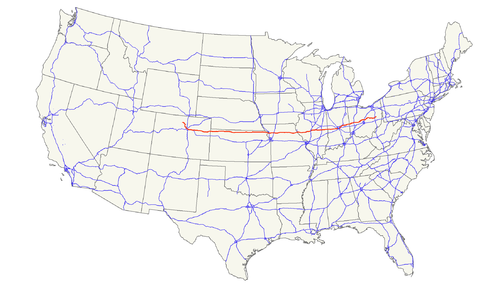 US Highway Wikiwand - Us highway 36 map