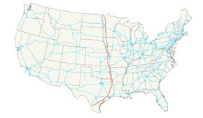 US Route Wikipedia - Us hw map