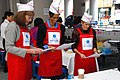 US Army 53523 Army spouses make Song Pyun rice cake for Koreans.jpg