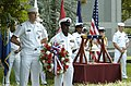 US Navy 050909-N-7168M-008 Sailors assigned to the National Maritime Intelligence Center (NMIC) participate in a 9-11 Remembrance Ceremony.jpg