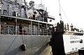 US Navy 070123-N-6794Z-001 Mine warfare ship USS Gladiator (MCM 11), an Avenger-class mine countermeasure ship, arrives in Bahrain.jpg