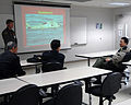 US Navy 070227-N-3234A-007 Lt. Gen. Ng Yat Chung, Chief of Defense Forces, Singapore, and fellow senior officers meet with base Commanding Officer.jpg