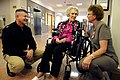 US Navy 100421-N-9818V-201 Master Chief Petty Officer of the Navy (MCPON) Rick West meets with Edyth Jackman, who just celebrated her 100th birthday.jpg