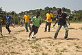 US Navy 110818-N-XK513-087 Sailors from HSV2 play soccer with Ghanaian children.jpg
