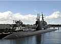 US Navy 111221-N-UK333-045 The Los Angeles-class fast attack submarine USS Columbia (SSN 762) returns to Joint Base Pearl Harbor-Hickam following a.jpg