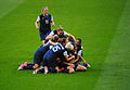 US women's soccer team pileon vs Japan, Olympic gold medal match, August 9, 2012.jpg