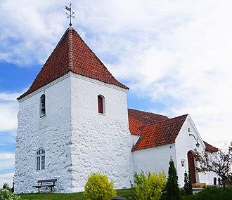 Randers Fjord - Image: Udby Kirke 2
