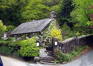 Snowdonia Society - The Ugly House, the former headquarters of the Snowdonia Society.