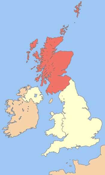 Image of Scotland in the UK