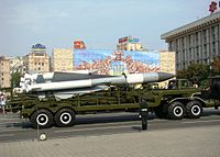 Ukrainian S-200 missiles during the Independence Day parade in Kiev.JPG