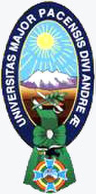 Higher University of San Andrés - Image: Umsa escudo