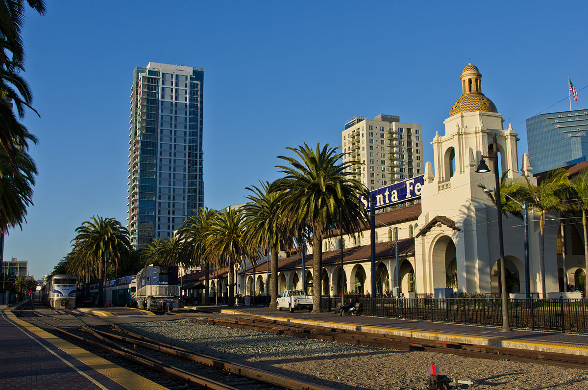 Southern California Electric >> Union Station (San Diego) - Wikipedia