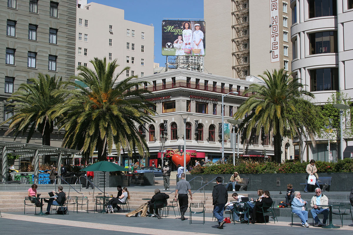 union square san francisco wikipedia. Black Bedroom Furniture Sets. Home Design Ideas