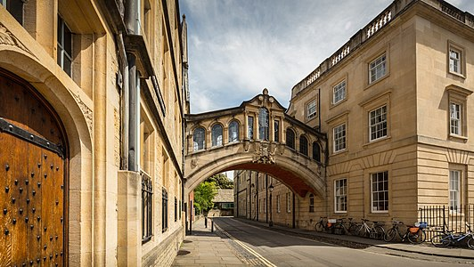University Of Oxford The Bridge Of Sighs