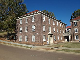 James K. Vardaman - The former Vardaman Hall at the University of Mississippi