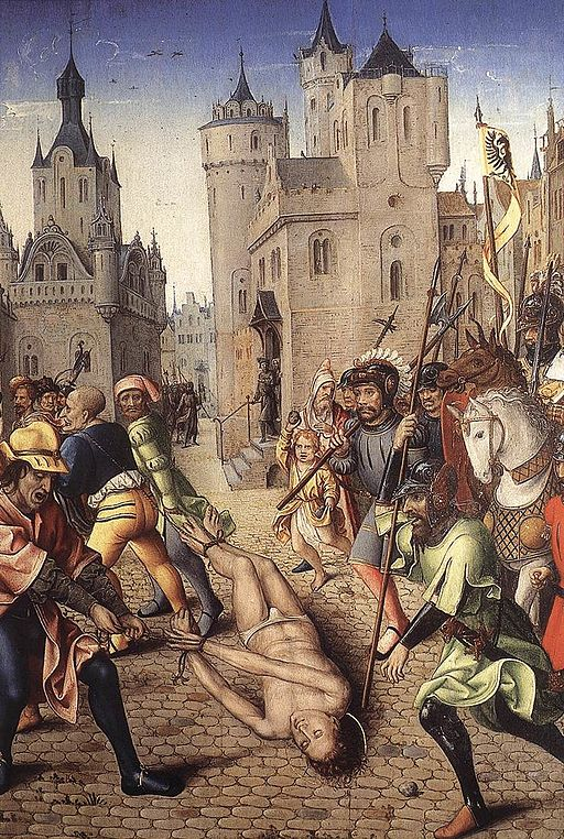 Unknown painter - The Torture of St Victor - WGA23584