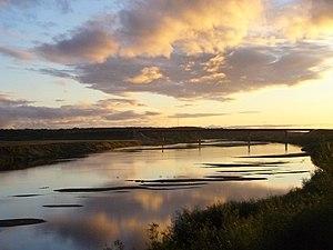 Unzha River - Unzha near Kologriv
